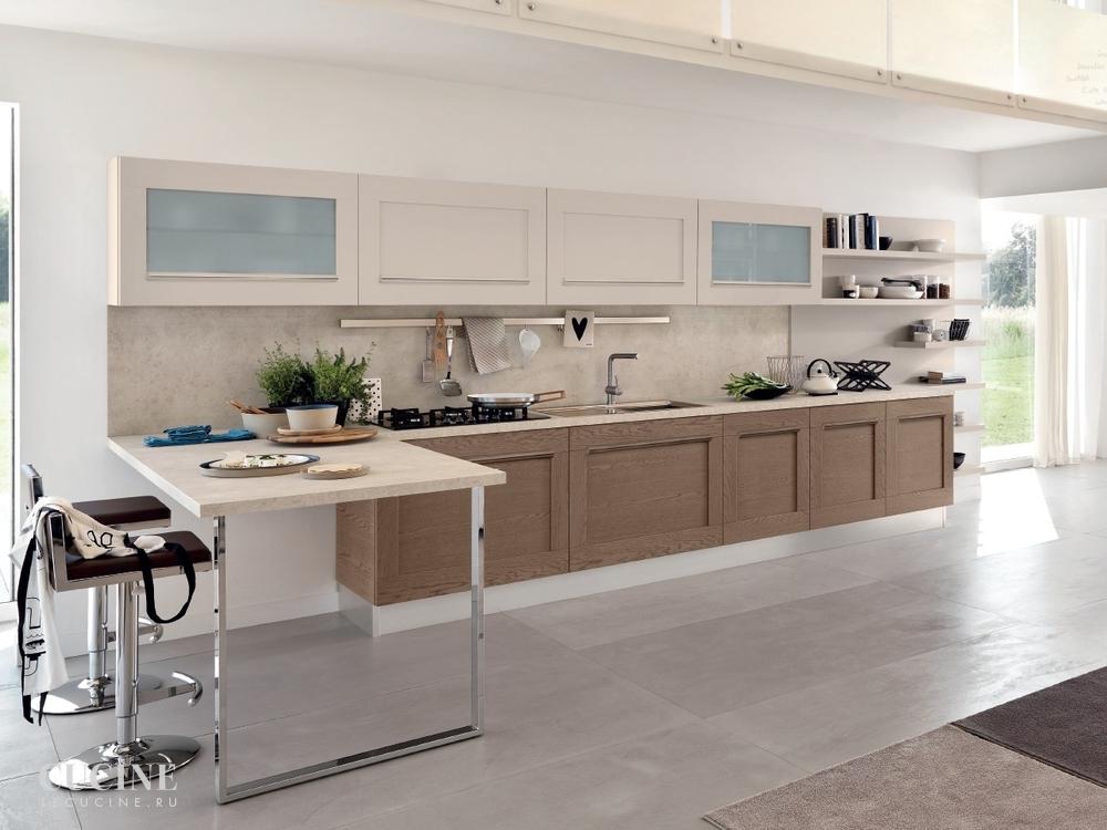 Кухня Gallery. Фабрика Lube Cucine. Поставка из Италии на заказ.  Le cucine
