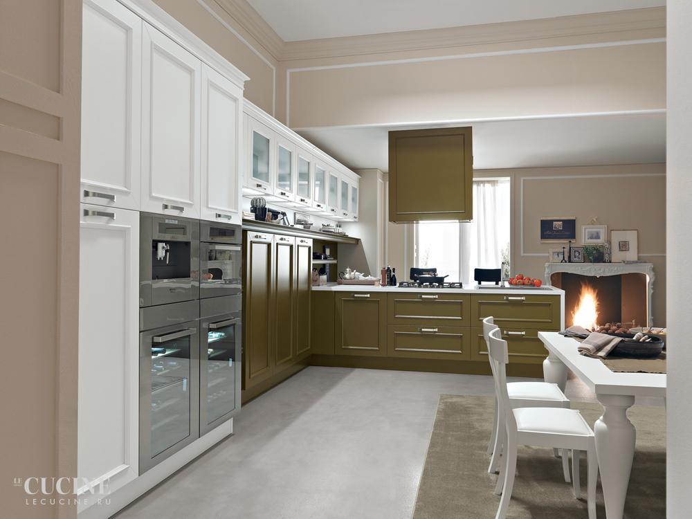 Кухня Romantica. Фабрика Febal. Поставка из Италии на заказ. | Le cucine