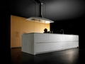 Toncelli cucine wind leather and marble 1