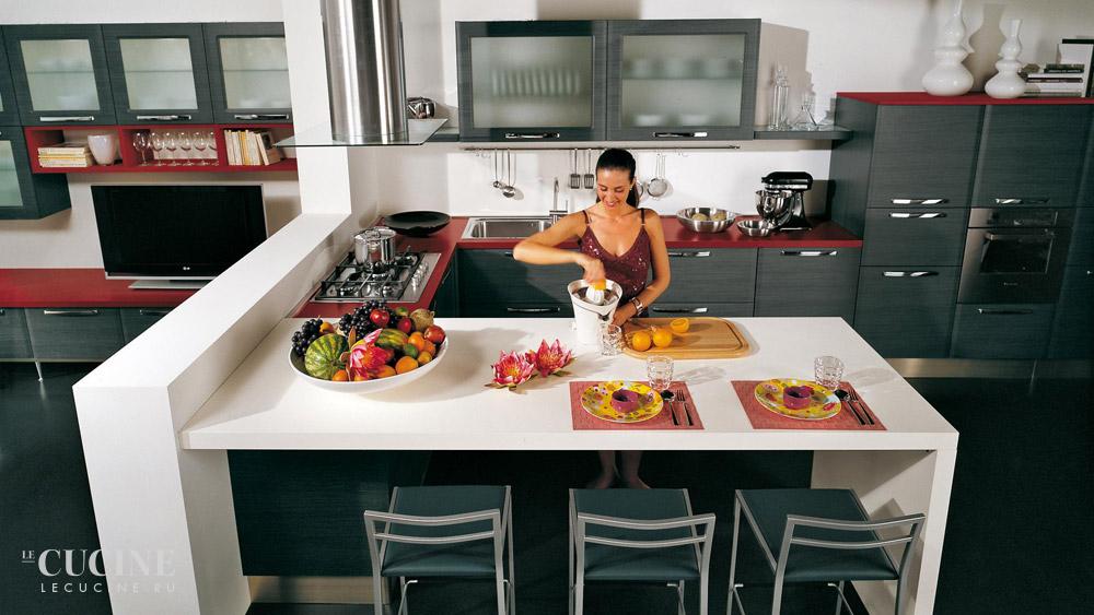 Кухня Doris. Фабрика Lube Cucine. Поставка из Италии на заказ. | Le ...