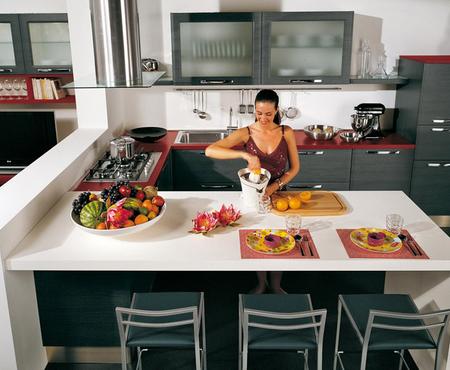 Каталог кухонь Lube Cucine. Поставка из Италии на заказ. | Le cucine