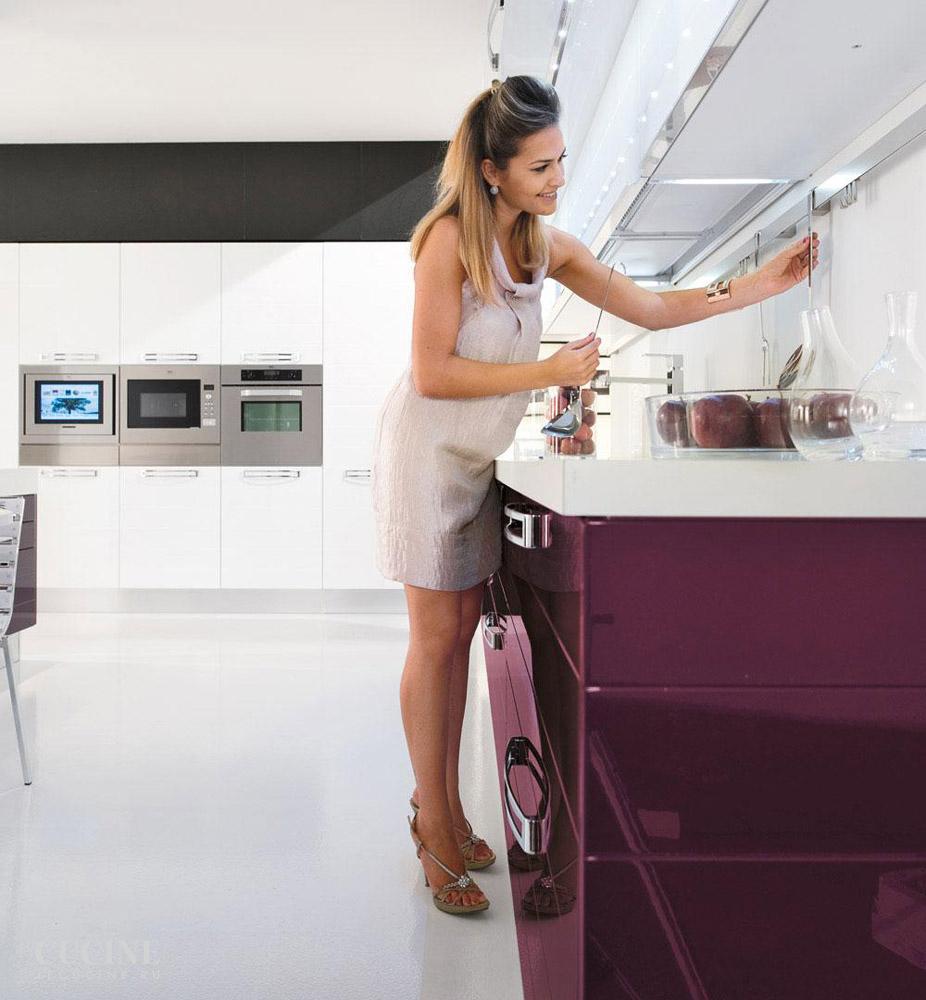 Кухня Fabiana. Фабрика Lube Cucine. Поставка из Италии на заказ ...