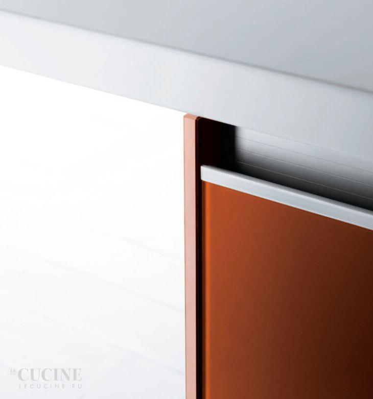 Moderne Matt Weise Kueche Vetronica