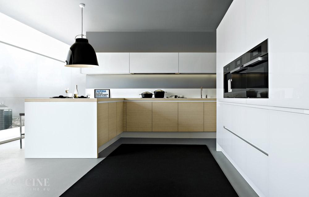 Кухня Alea. Фабрика Poliform. Поставка из Италии на заказ. | Le cucine