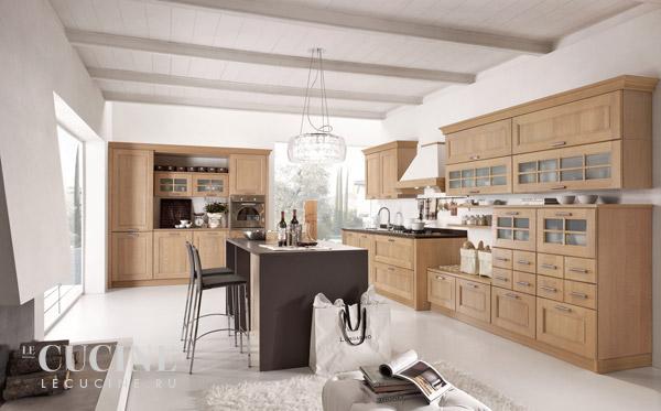 Кухня Ontario. Фабрика Stosa. Поставка из Италии на заказ.   Le cucine