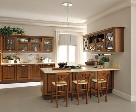 Кухня agnese Фабрика lube cucine Поставка из Италии на заказ
