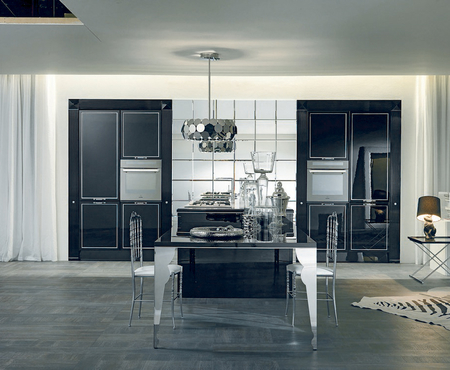 Aster cucine luxury glam   black is back 0