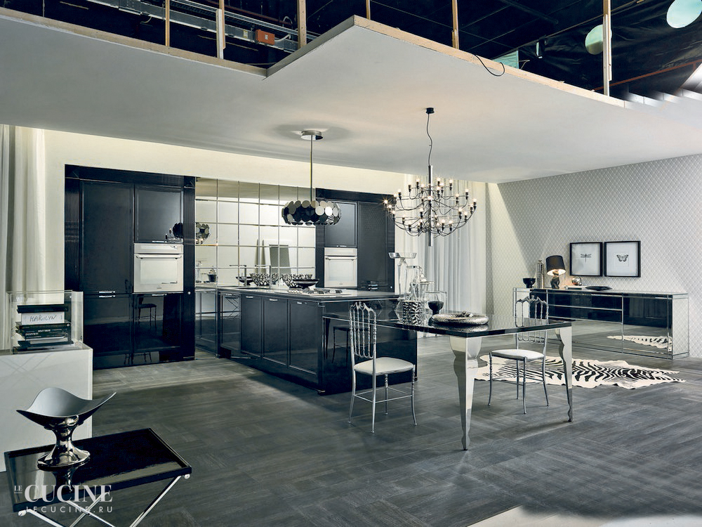 Aster cucine luxury glam   black is back 1