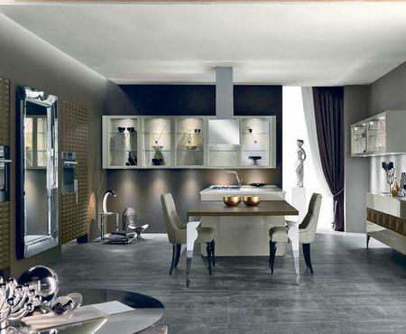Aster cucine luxury glam   cuspide pelle 0
