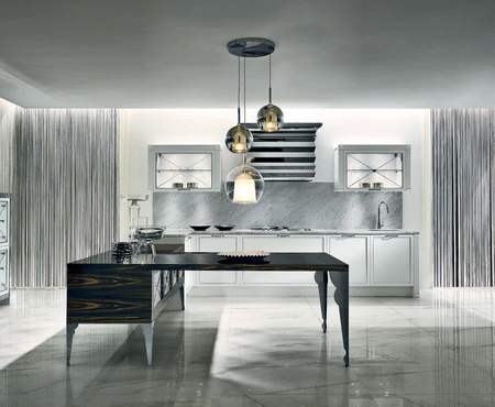 Aster cucine luxury glam   telaio silver 0