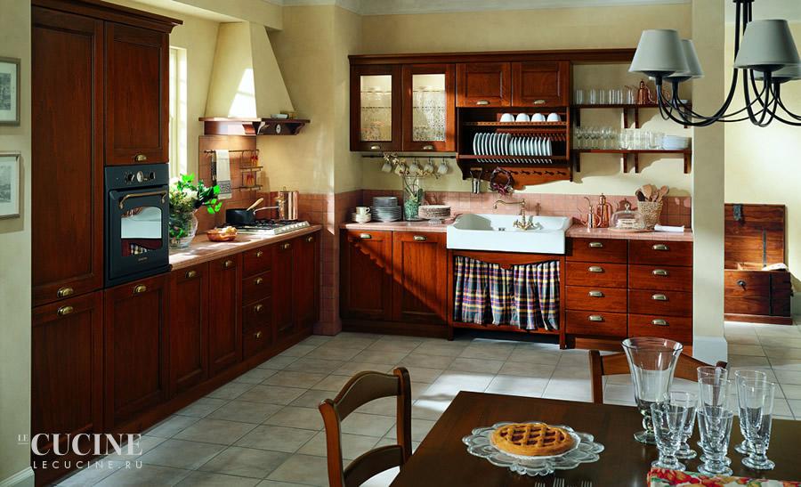 Contea legno noce tomassi cucine le cucine - Cucine wolf italia ...