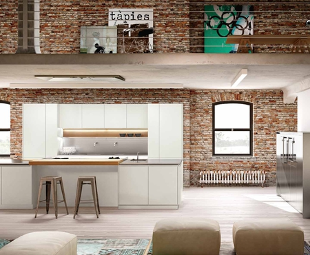 Каталог кухонь LineaQuattro. Поставка из Италии на заказ. | Le cucine