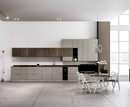 Linea 4 Cucine. Image May Contain People Sitting Table And Indoor ...