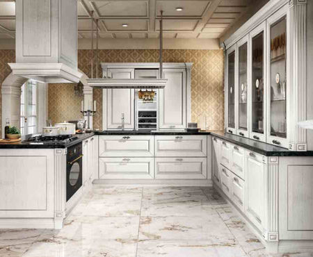 Home cucine imperial   bianco argento 1