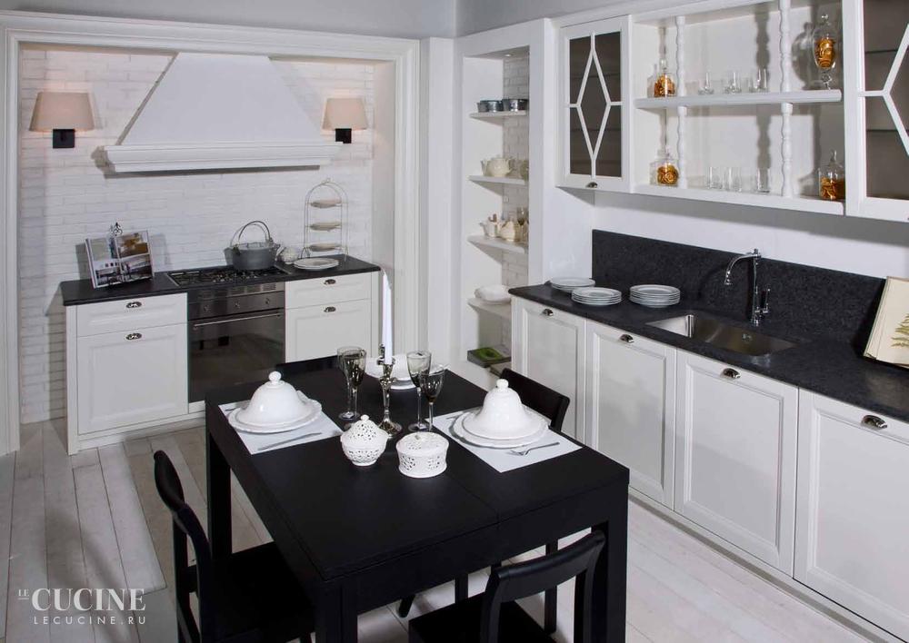 Ester laccato bianco ral 9010 aurora cucine le cucine - Cucine wolf italia ...