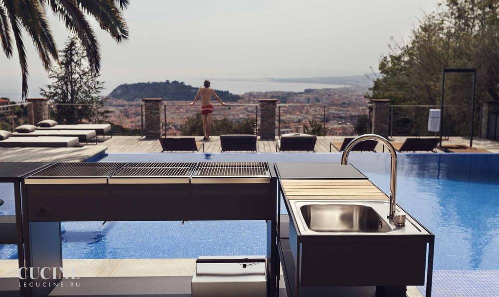 Кухня bbq grill gas Фабрика roshults Поставка из Италии на