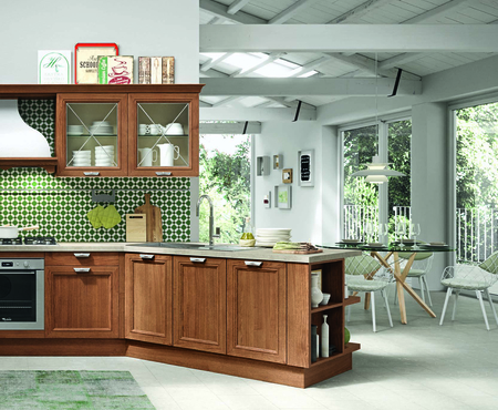 Aran cucine magistra stained antique oak 7