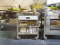 Alpes kitchen cart 70 stainless steel surface 3