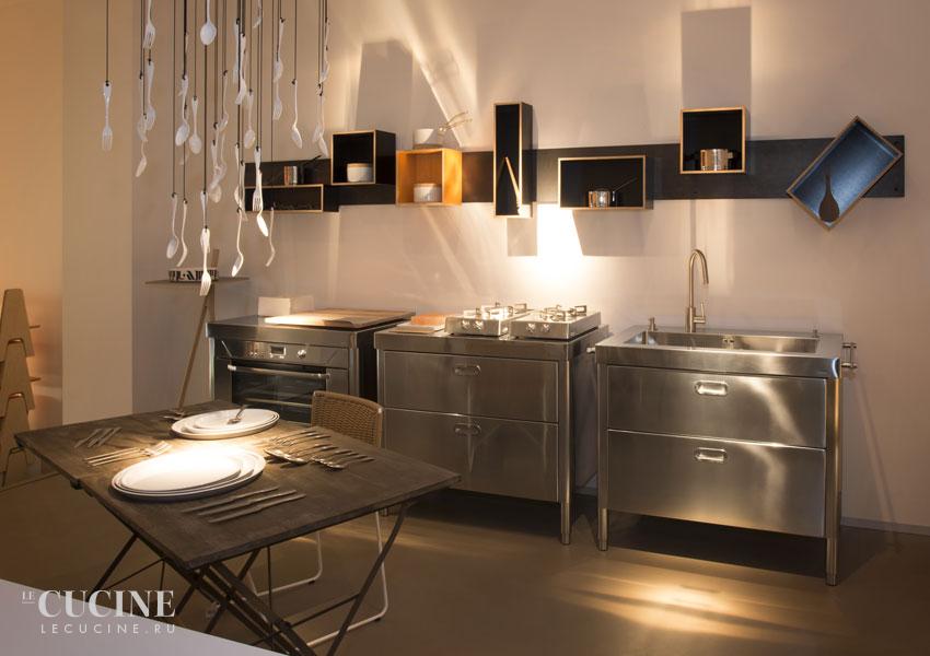 Кухня Kitchen 100 Combined 3. Фабрика Alpes Inox. Поставка из Италии ...