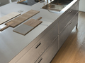 Alpes kitchen island with snack bar unit 1