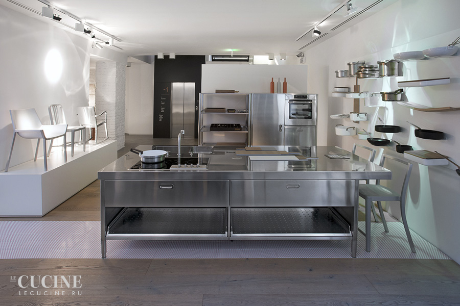 Alpes kitchen island with snack bar unit 3