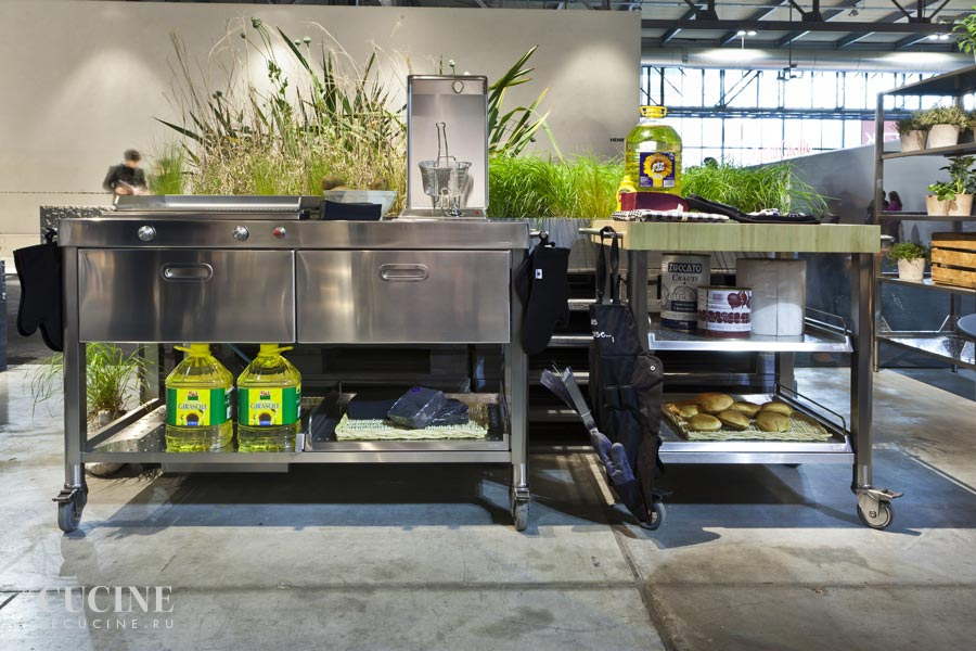 Alpes outdoor kitchen unit 130 plancha and deep fat fryer 2