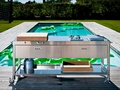 Alpes outdoor kitchen unit 190 swimming pool 5