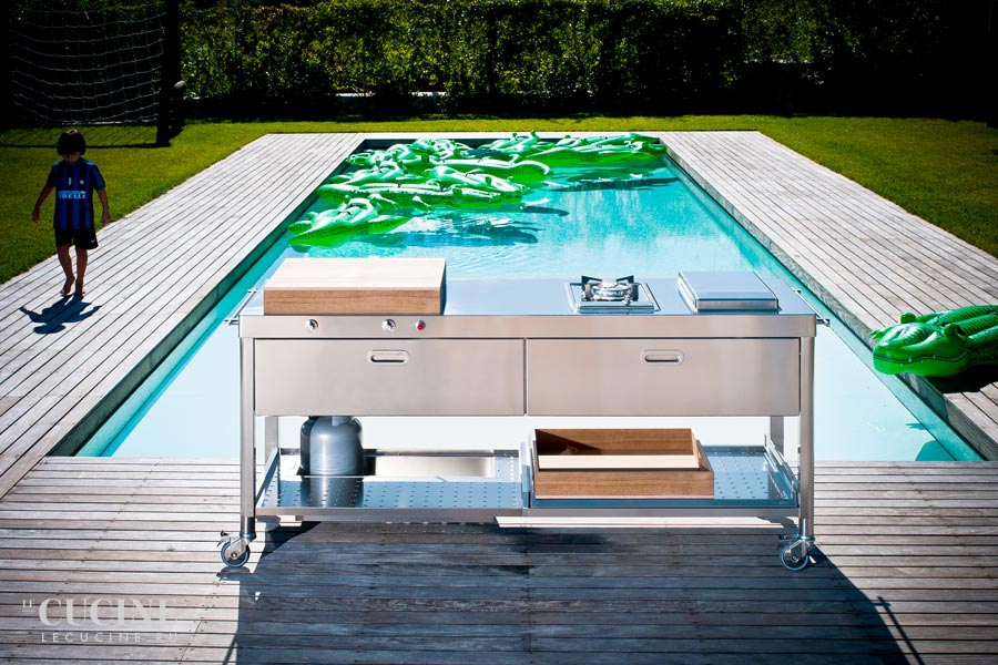 Alpes outdoor kitchen unit 190 swimming pool 6