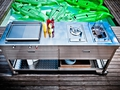 Alpes outdoor kitchen unit 190 swimming pool 8