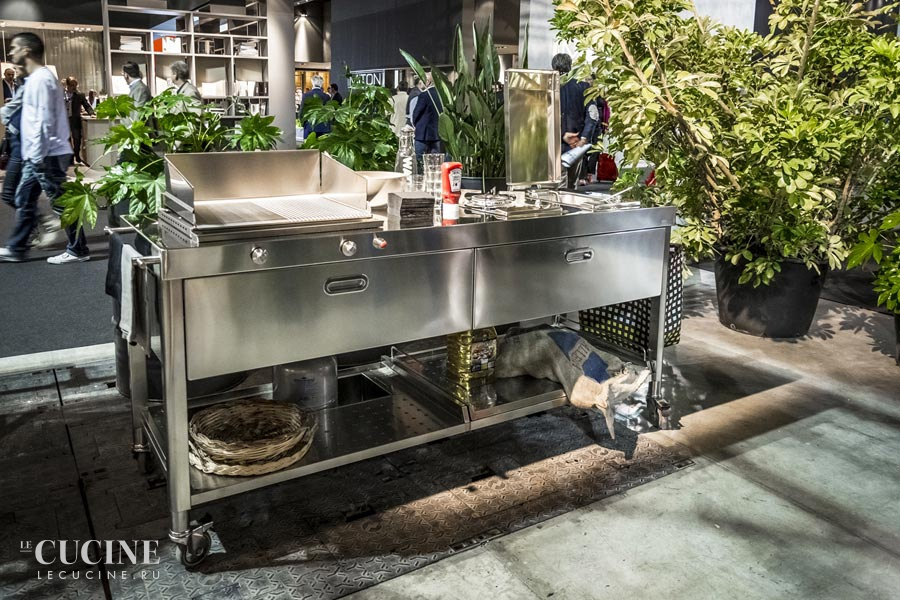 Alpes outdoor kitchen unit 190 eurocucina 1