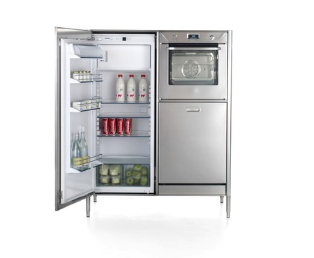 Alpes column 128 refrigerator oven and dishwasher 4