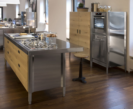 Alpes kitchen island 250 with snack bar unit 1