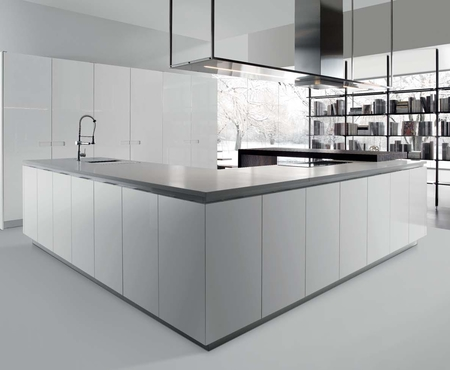 Rastelli royale white lacquered brushed  9