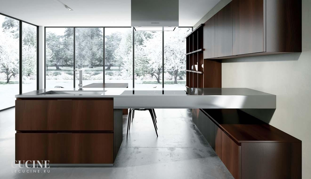 Rastelli royale heat treated acacia with texture glossy lacquered white sliding tall units 1