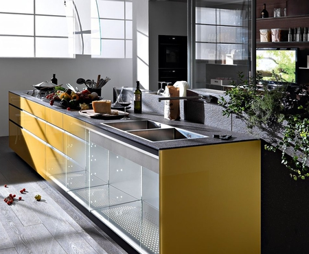 Valcucine artematica vitrum earth yellow 1