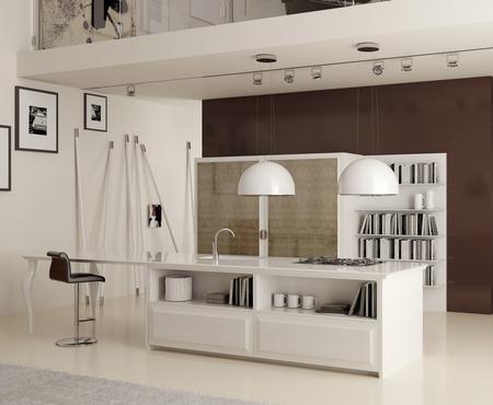 Кухня diamond bianca Фабрика scic Поставка из Италии на заказ