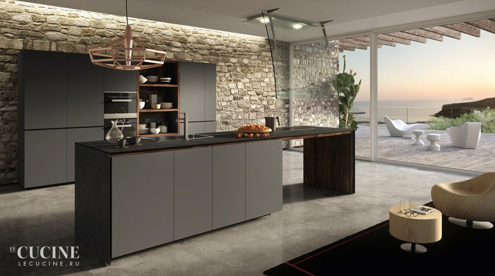 Valcucine forma mentis with lacquered door 1