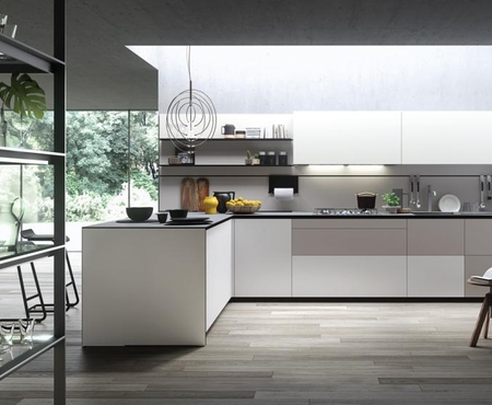 Valcucine forma mentis with angel skin door finishing 1