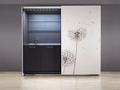 Abc cucine decarated polyester and leather 1