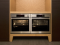 Abc cucine wood and leather 1