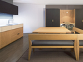 Abc cucine wood and leather 4