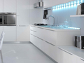 Torchetti airone gloss white 2
