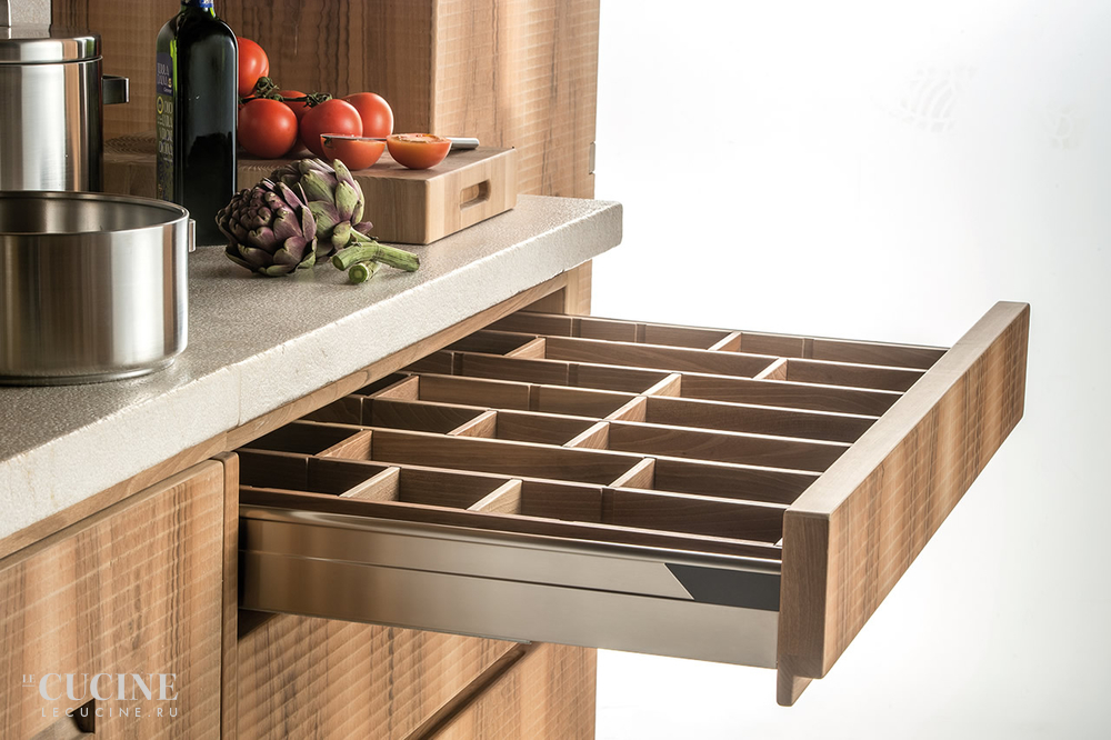 Habito by giuseppe rivadossi walnut kitchen 1