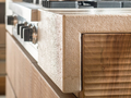 Habito by giuseppe rivadossi walnut kitchen 3