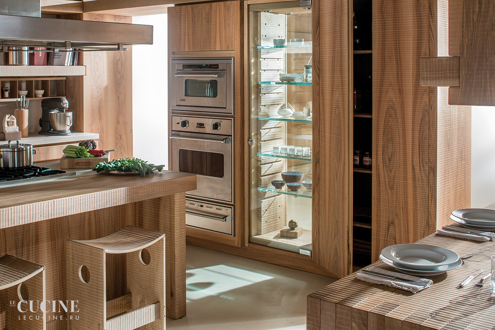 Habito by giuseppe rivadossi walnut kitchen 4