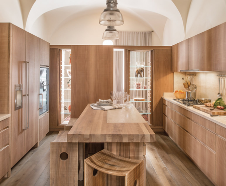 Habito by giuseppe rivadossi national walnut kitchen 1