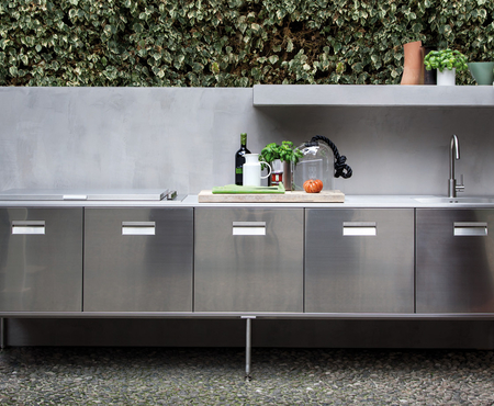 Arclinea outdoor kitchen 1