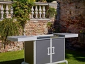 Dfn by samuele mazza kitchen barbecue with sliding manual cover 1