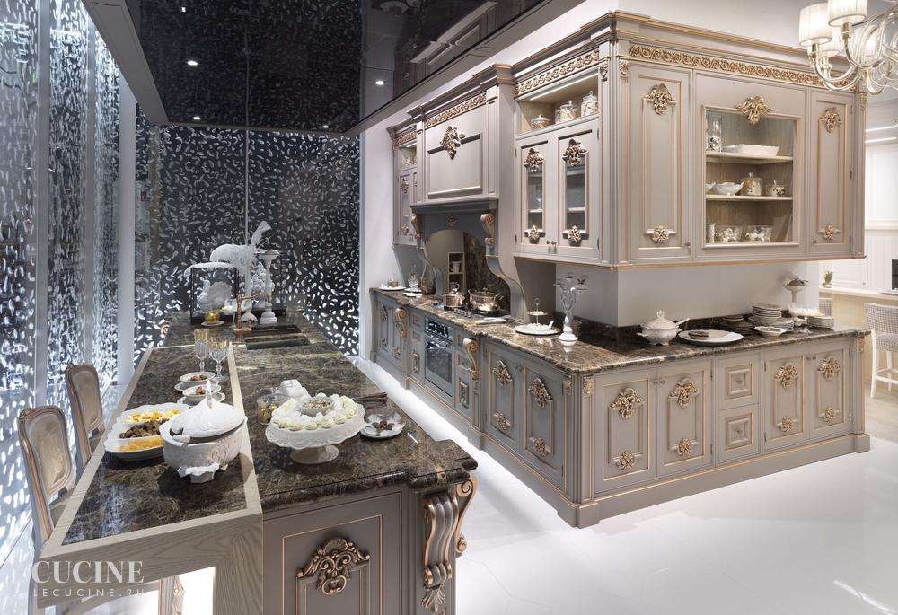 Кухня San Pietroburgo. Фабрика FM Bottega d\'Arte. Поставка из Италии ...