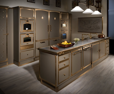 Officine gullo beige grey burnished brass 1